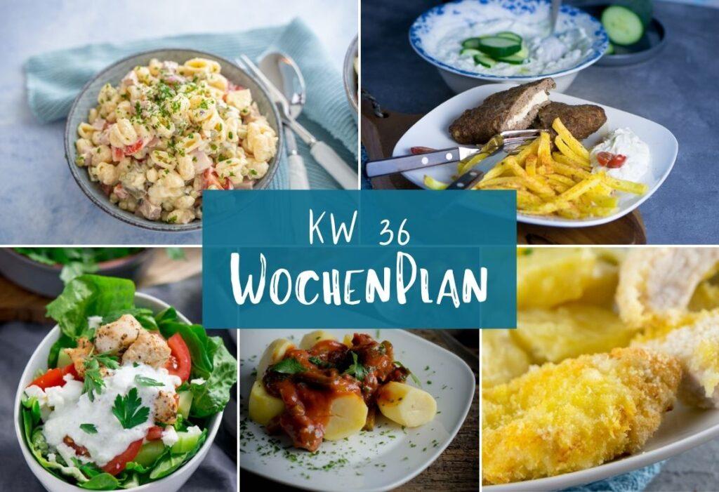 Einfache und leckere Gerichte für die Essenplanung der ganzen Woche