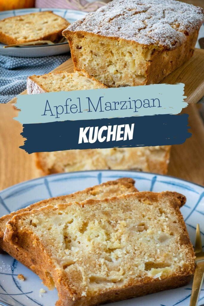 OMG, wie lecker & saftig ist dieser einfache Apfel Marzipan Kuchen bitte? Du musst ihn unbedingt probieren und dich selbst überzeugen. Er schmeckt köstlich! Das Rezept ist super easy und er schmeckt am besten mit leicht säuerlichen Äpfeln. Ein super tolles Apfelkuchen Rezept