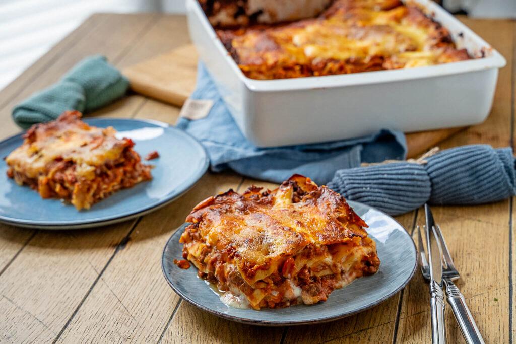 So lecker und einfach machst du deine Lasagne selber