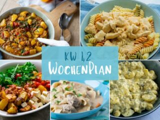 DIe Essensplanung für die ganze Woche -es wird lecker